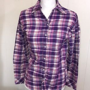 Women's Lee button-down polo size small